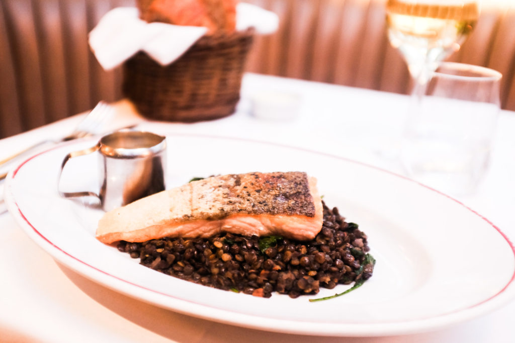 Jackson + Rye Brasserie - Roasted Salmon Fillet